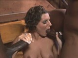 Fun Brunette Enjoys TWO Black Schlongs in Country Vacation Home! Read and Comment!