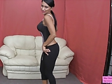 Lick up your cum for Jasmine Shy JOI CEI YOGA PANTS LEGGINGS