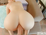 Ass Traffic Impressive bubble butt gets fucked
