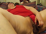bbw mexican granny sucking dick plays with toy
