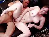 Sammy Grands hairy pussy is fucked hard