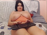 Webcams 2014 - Romanian with BIG ASS TITTIES