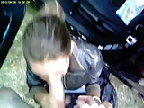 Romanian Gipsy Teen Hooker Public Blowjob