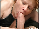 French redhead slut gets her ass pounded