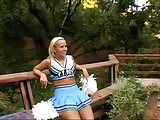 A black cock for a cheerleader