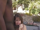 Public fucking with creampie