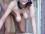 Mature Milf With Saggy Tits Sucking and Fucking by TROC