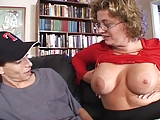 BBW Blonde Milf Seduces Young Guy
