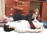 Redhead StepMom and NOT her Son