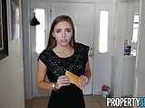PropertySex - Hot young petite realtor fucks client for sale