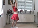 Sweet girl cheerleader