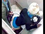 fuck in the club toilet