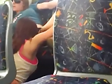 Hot lesbians eating pussy on the public bus in melbourne
