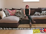 FakeAgentUK Multiple orgasms from cash strapped MILF