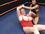 Chubby Blonde Beat Down