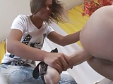 Russian Mistress with Big Strapon