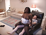 Anal Ebony BBW Housewife Gets Her Ass Fucked