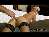 Sexy secretary milf fucked on video