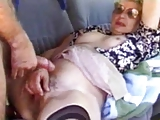 Mature wife fucked hard in a van outdoors husband films - XT
