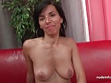 Sublime french milf hard analized in 3way for her casting