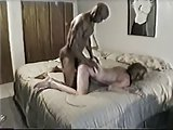 Hubby films Wife with Black Lover (interracial cuckold)