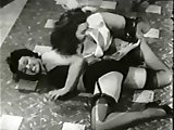 Bettie Page Pin Up Beauties Fight 1950s fetish stag film