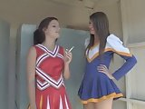 Sweets and Sexy Lesbian Cheerleaders. M & C
