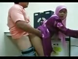 Malaysian girl fucked in office